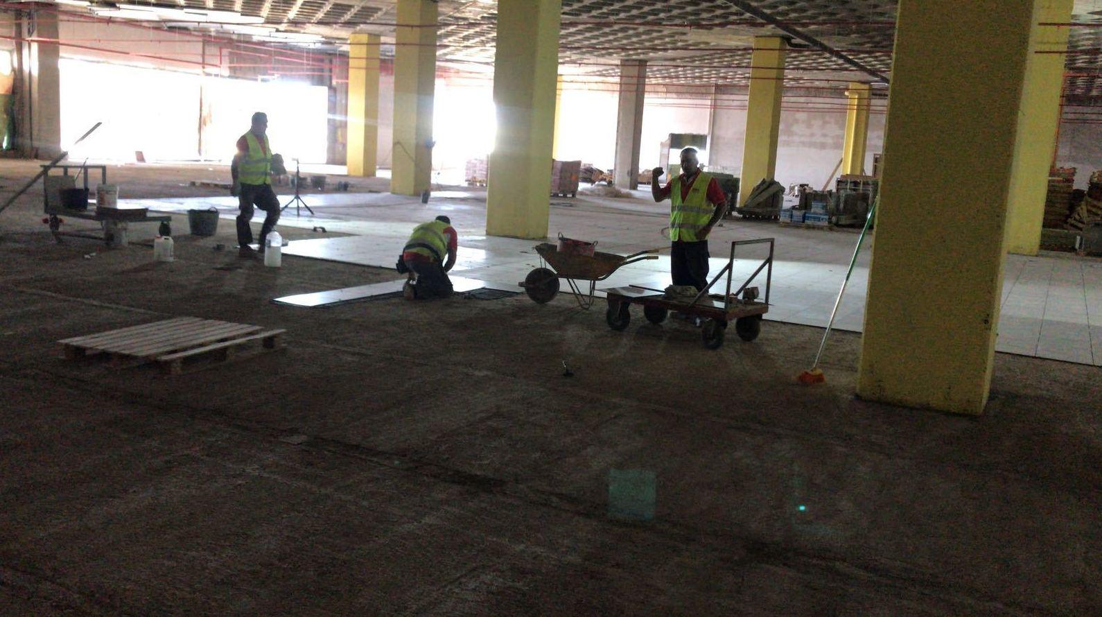Obras Centro comercial El Trompo 3,000 m2