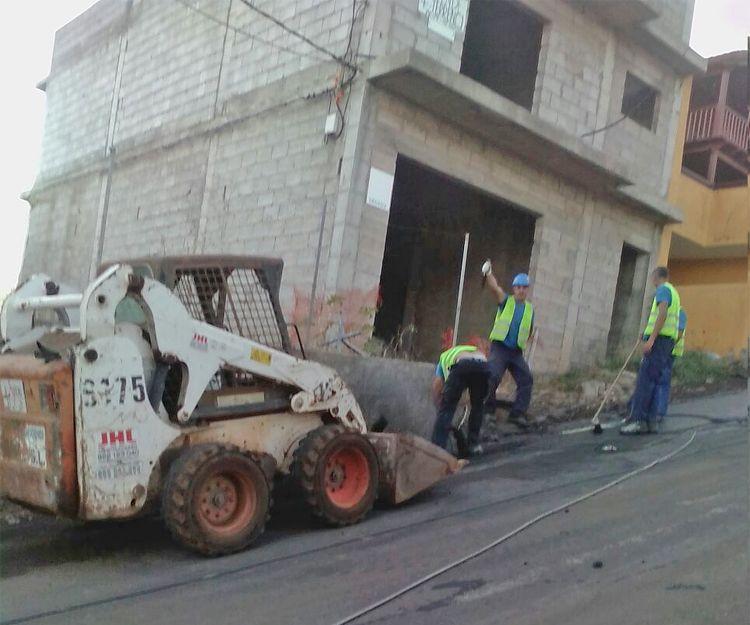 Trabajos en Santa Úrsula