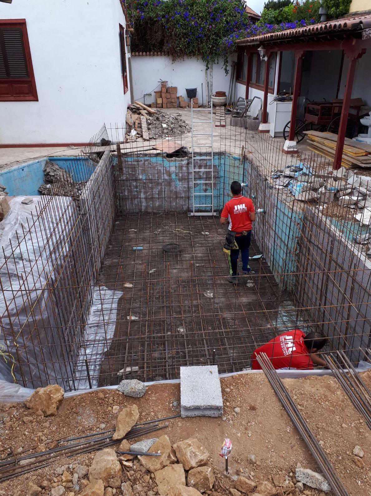 Remodelación de la piscina en Puerto La Cruz