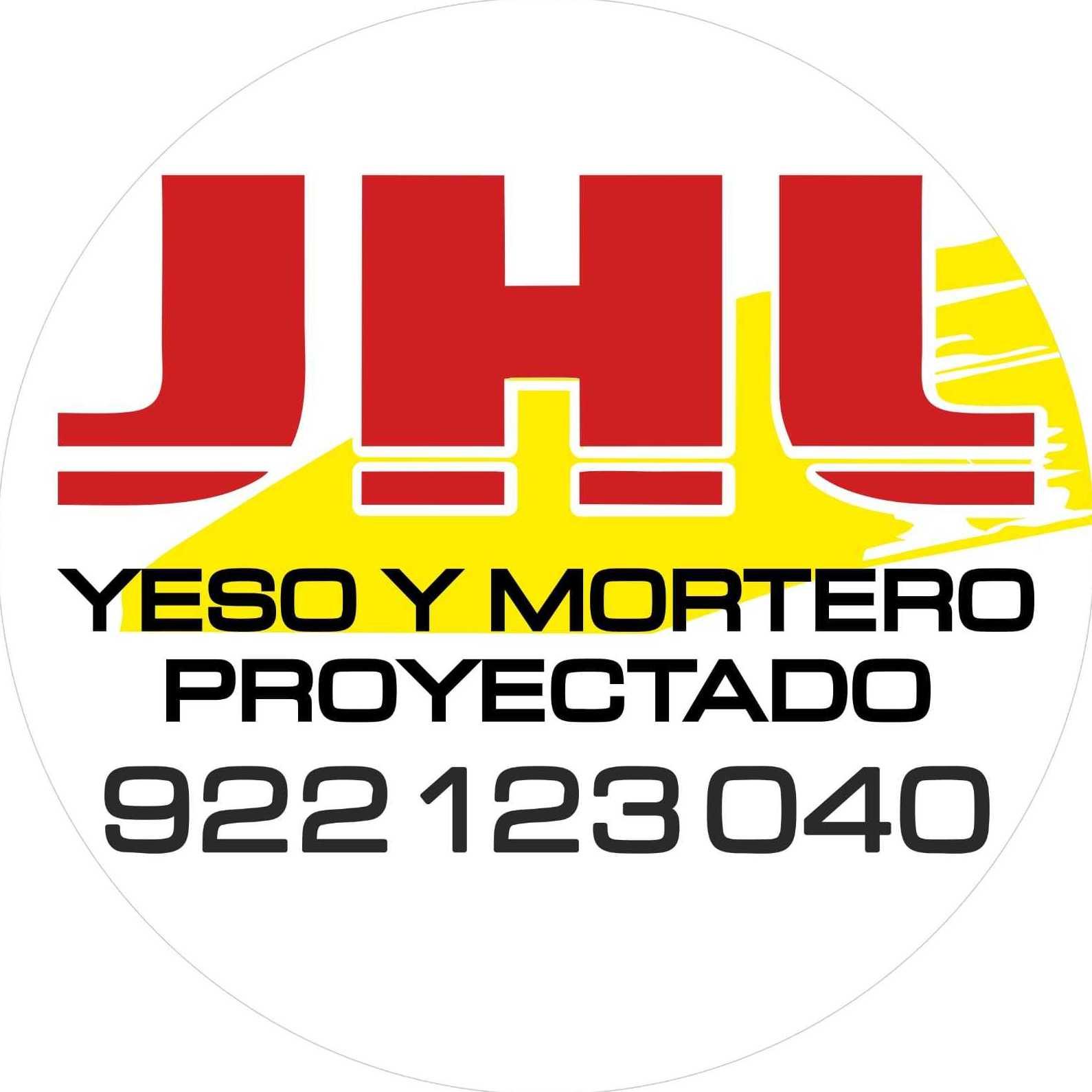 Yeso y mortero proyectado en Tenerife