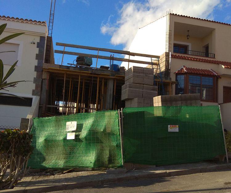 Vivienda unifamiliar en piedra hincada en Tenerife