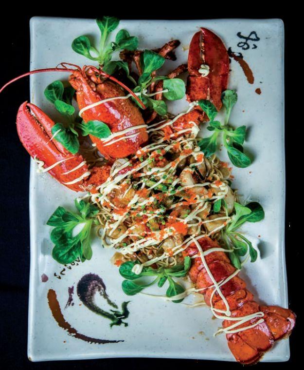 Del mar: Carta de Restaurante Kyoto