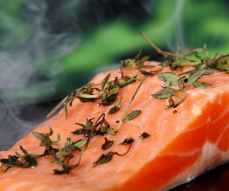 Uno de los mejores ingredientes, el salmón