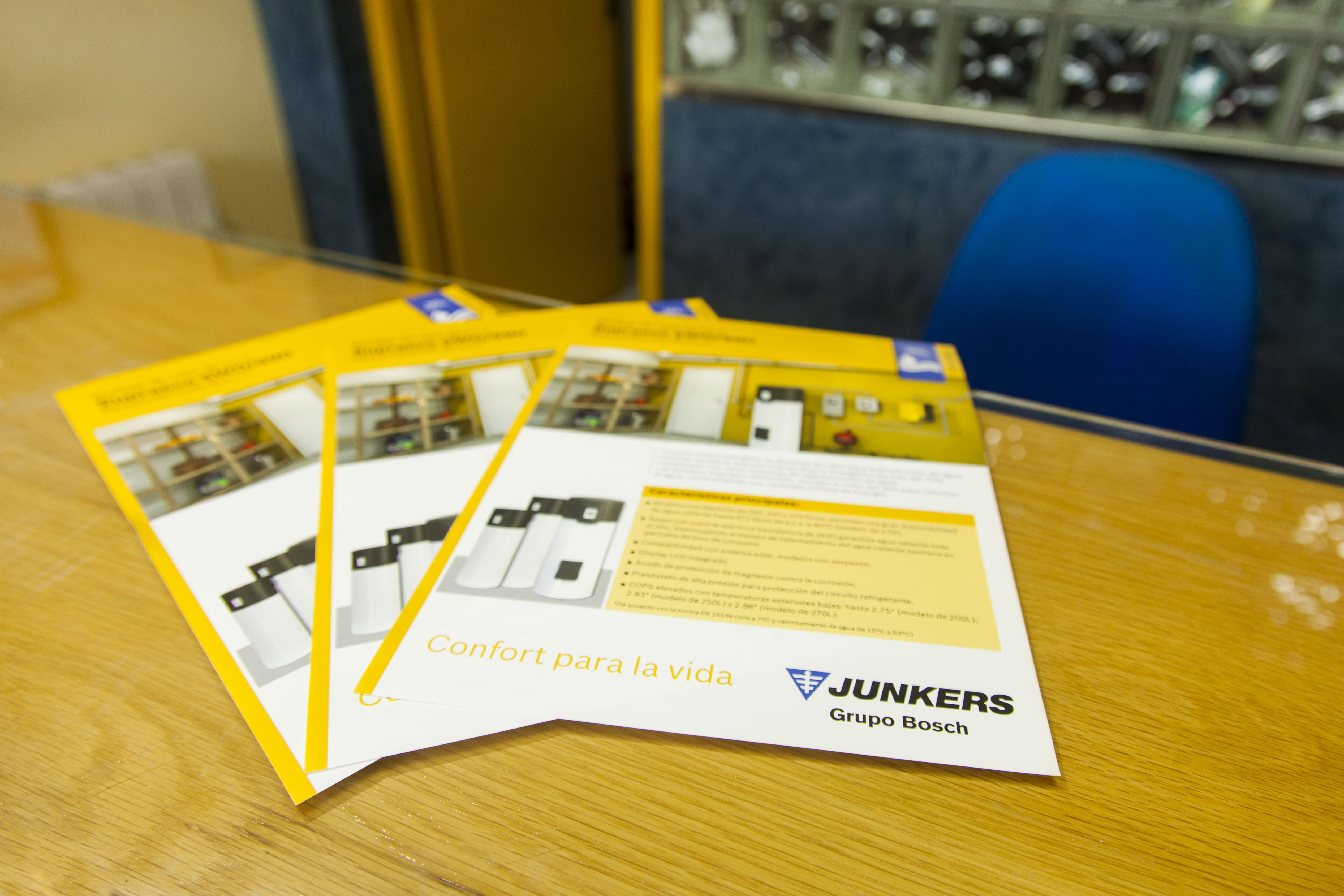 Calderas Junkers, Grupo Bosch en Burgos