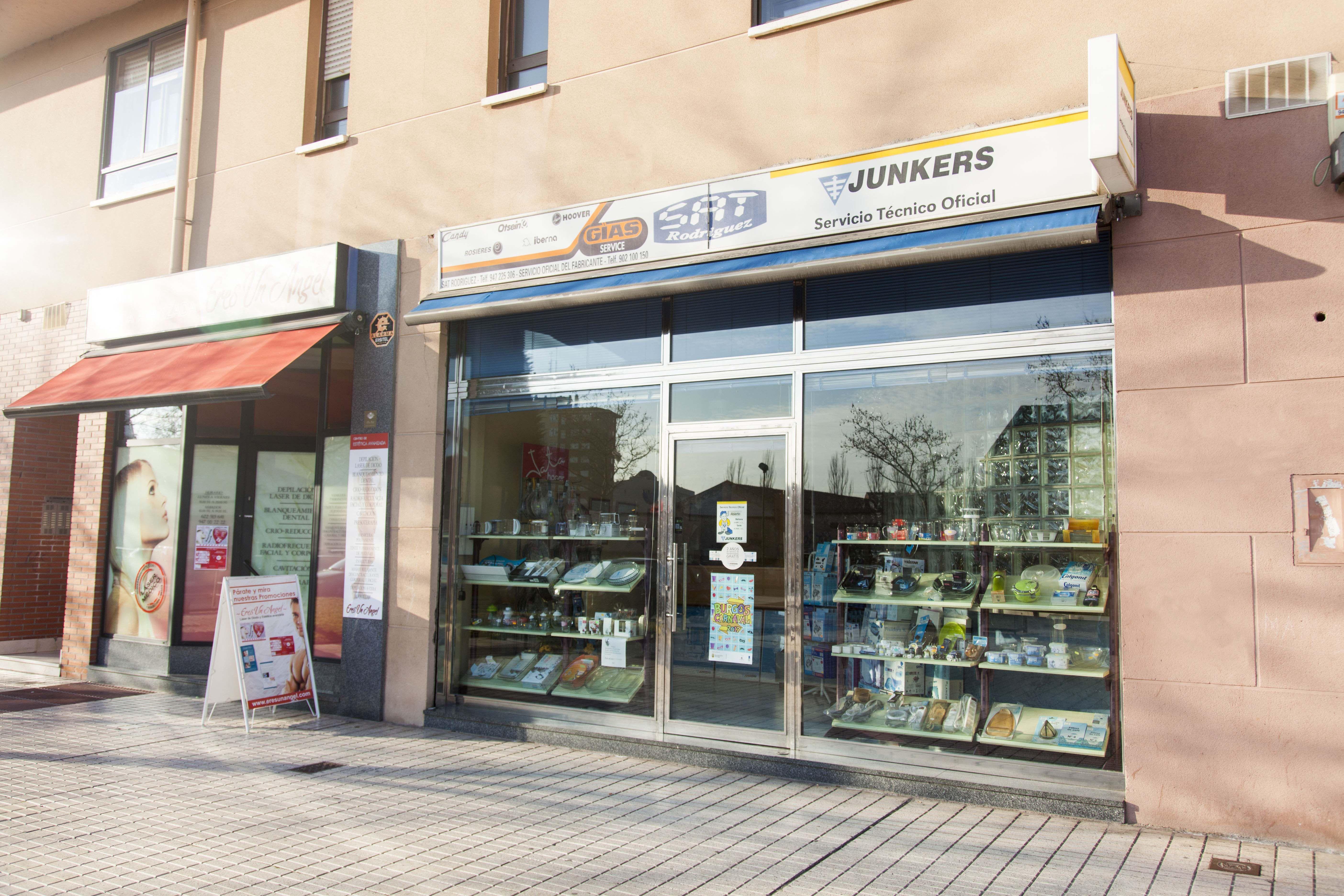 S.A.T. Rodríguez, calderas Junkers en Burgos