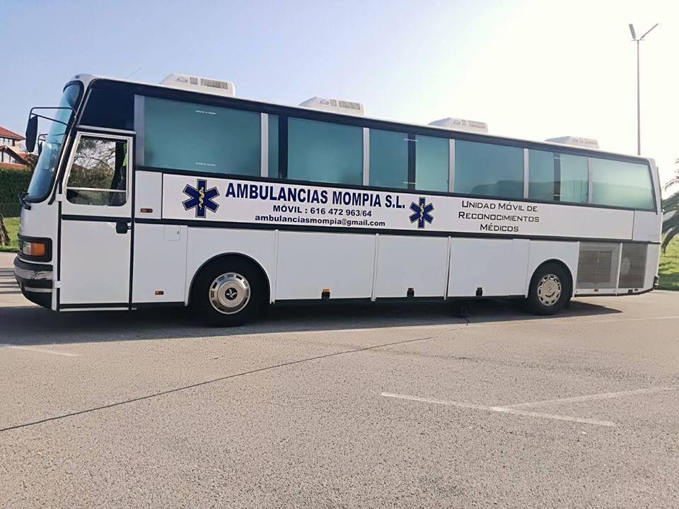 Autobús para servicios en empresas en Santander