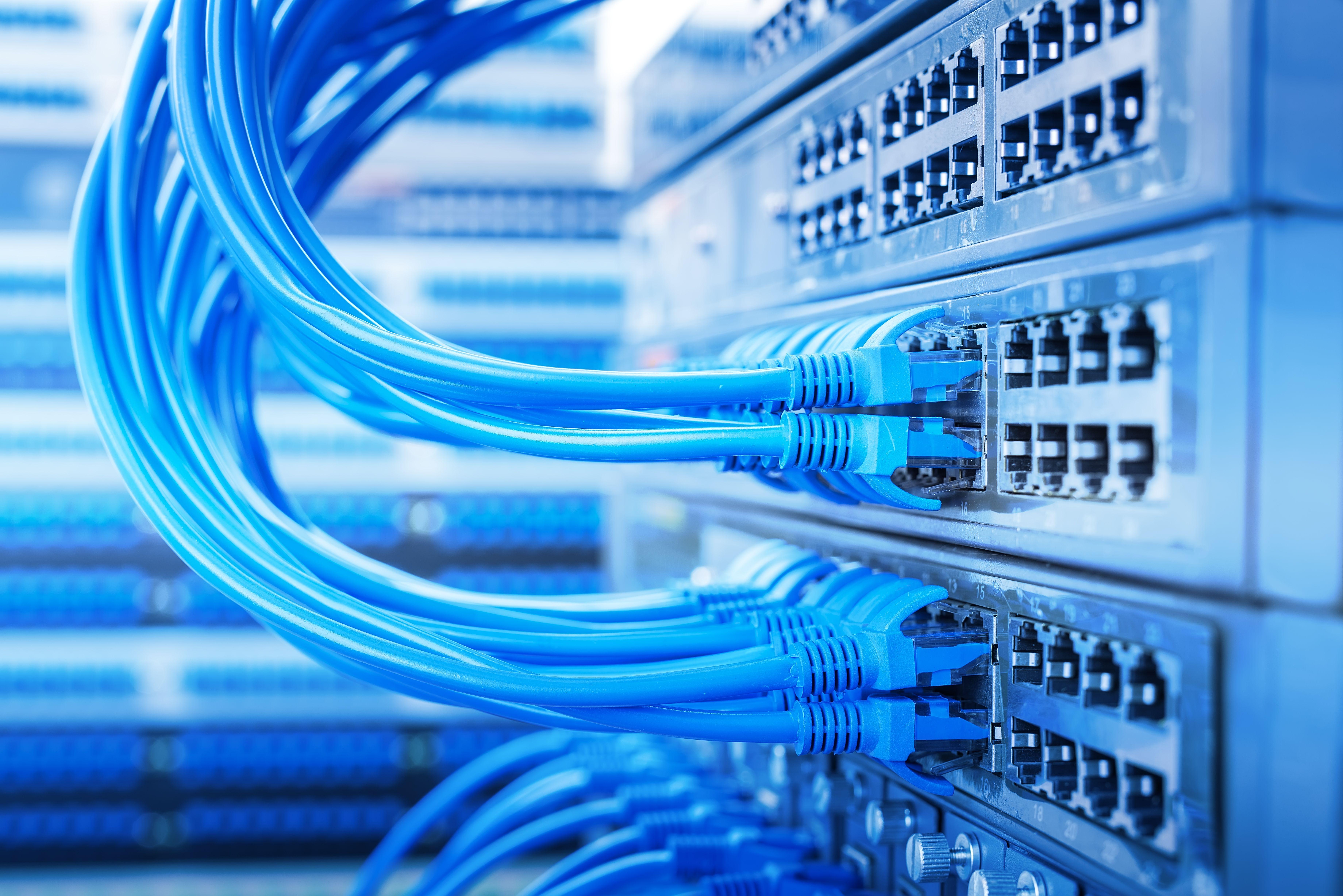 Instalación de control de redes