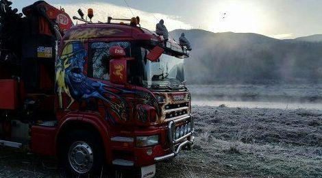 Camion grua.
