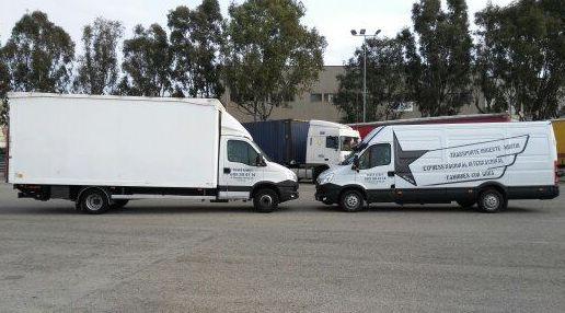 Mini-tir y furgon