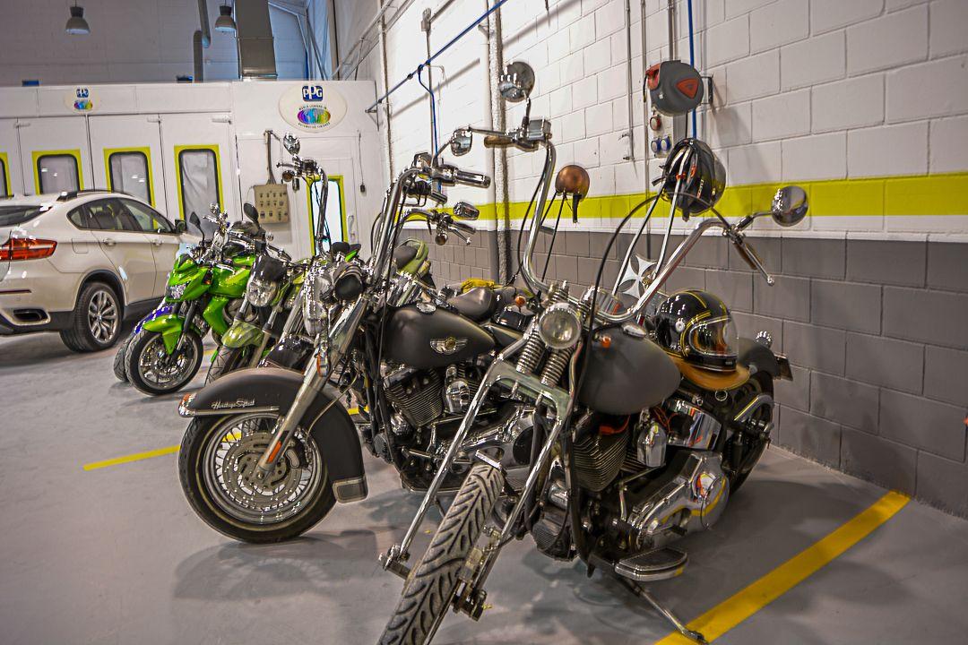 Motocicletas en Getafe