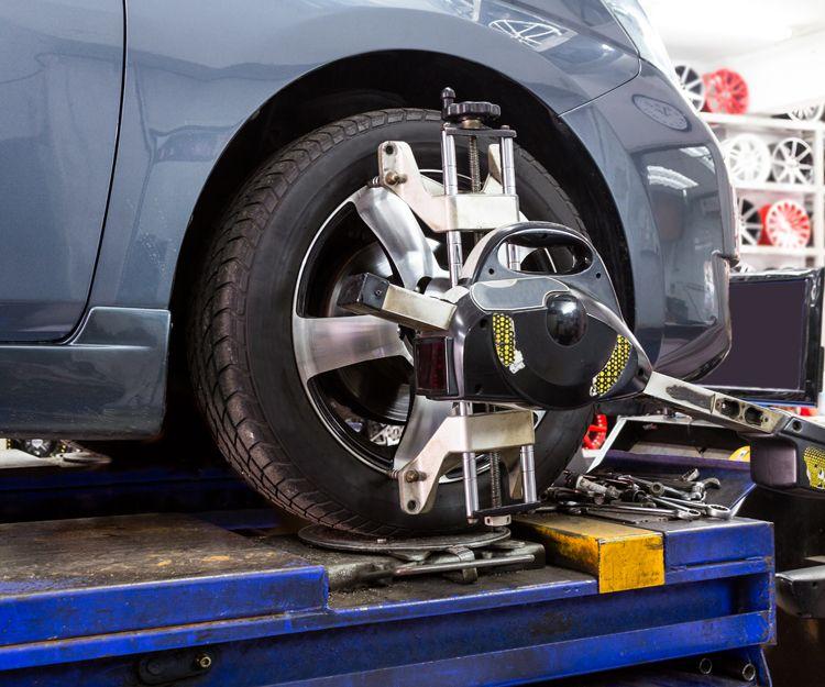 Montaje, equilibrado y alineación de neumáticos en Pontevedra