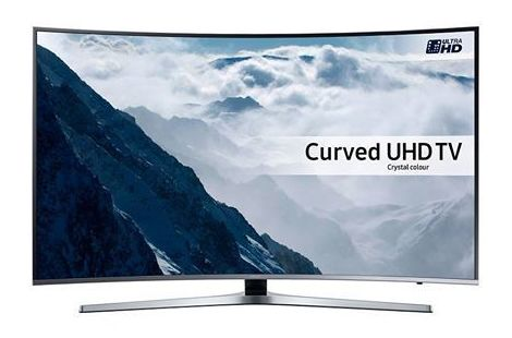 Samsung 4K Led Tv Smart Curvo HDR: Productos de Cyberworld Móviles }}