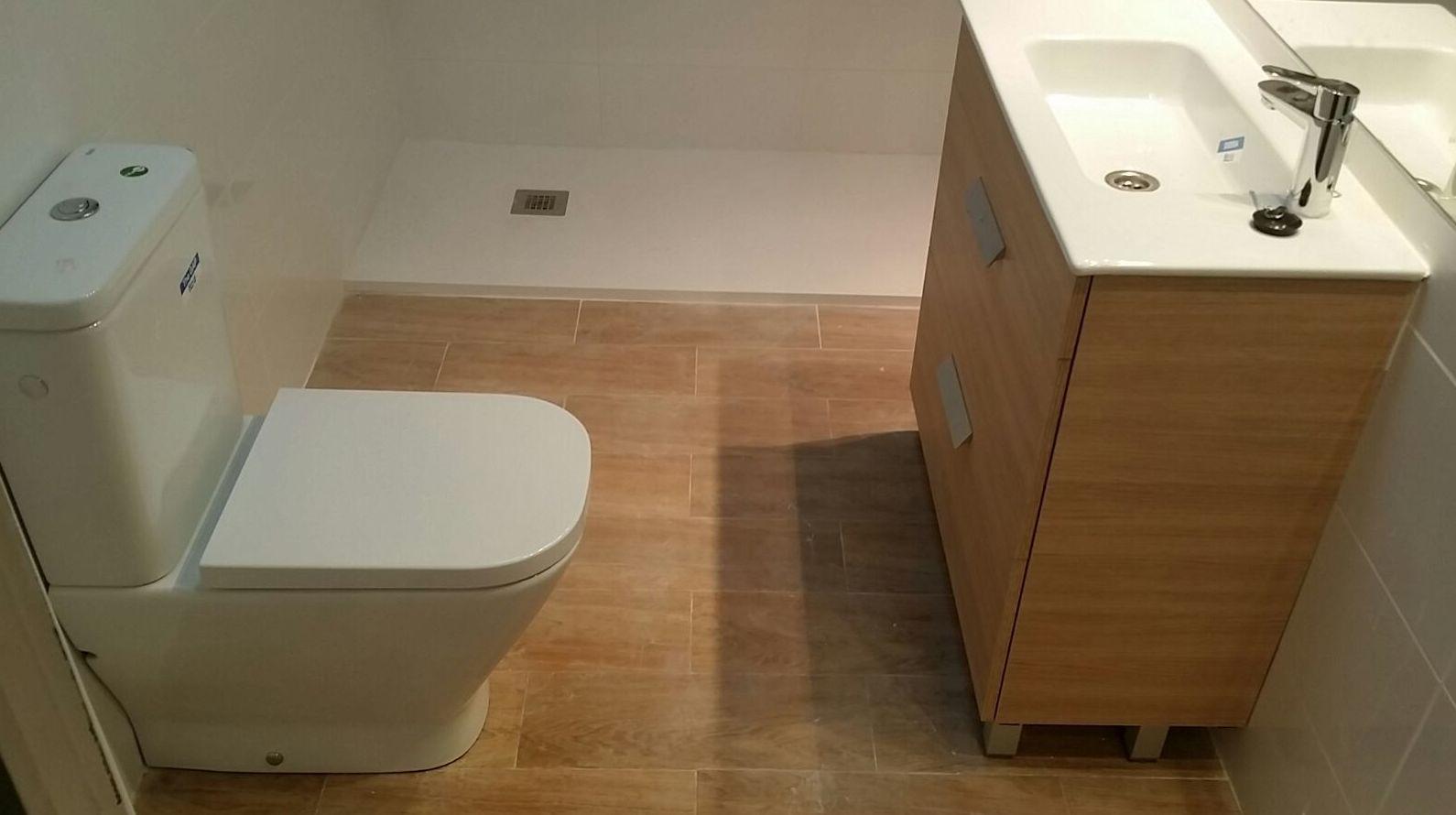 Reforma integral de baño, después de la obra
