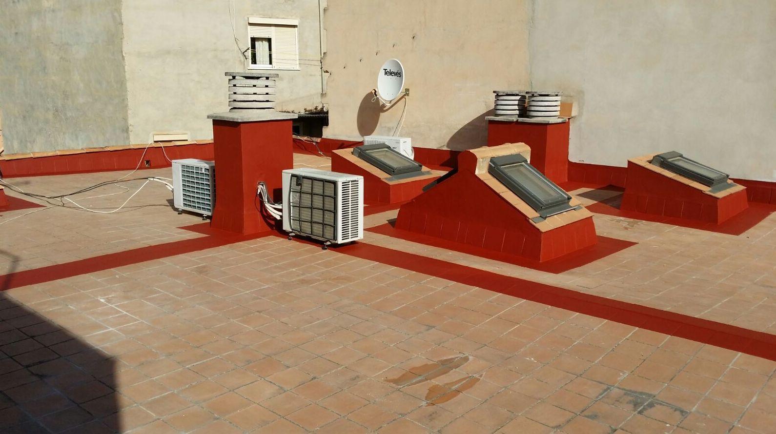 Humedades de terrazas