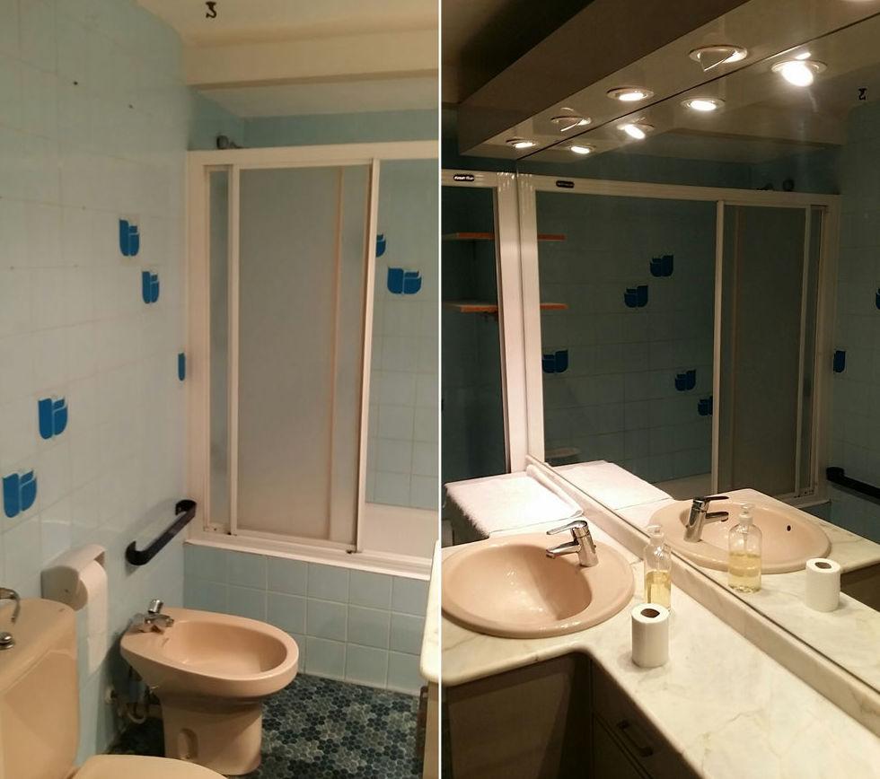 Reforma integral de baño, antes de la obra