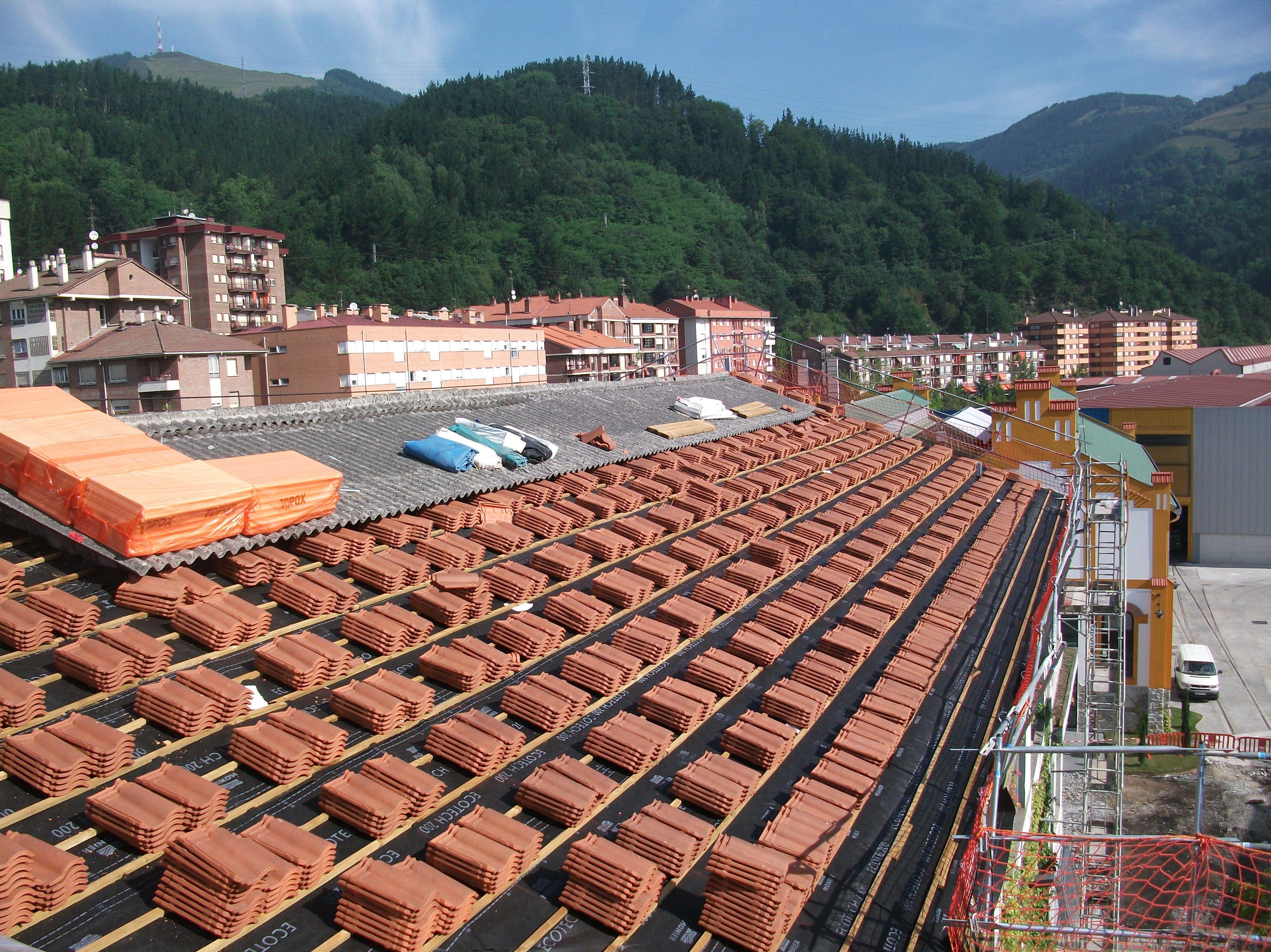 Foto 16 de Cubiertas y tejados en Vitoria-Gasteiz | Cubertecnic