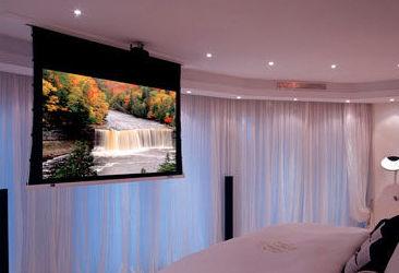Soluciones audiovisuales integradas en la domótica de su vivienda, cine en casa