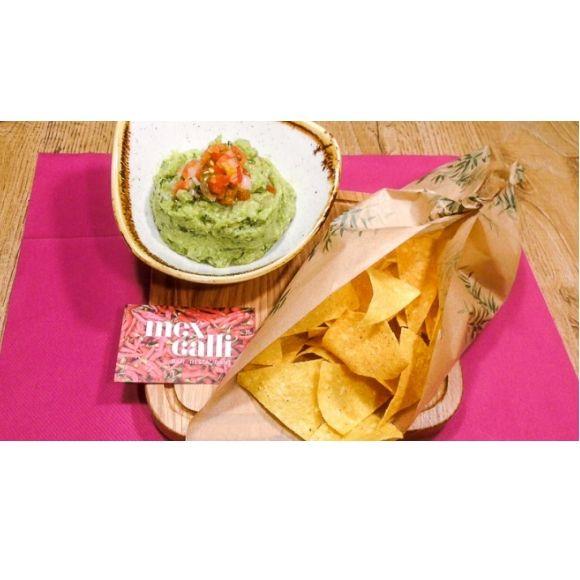 Entrantes: Carta de Mexcalli Restaurante