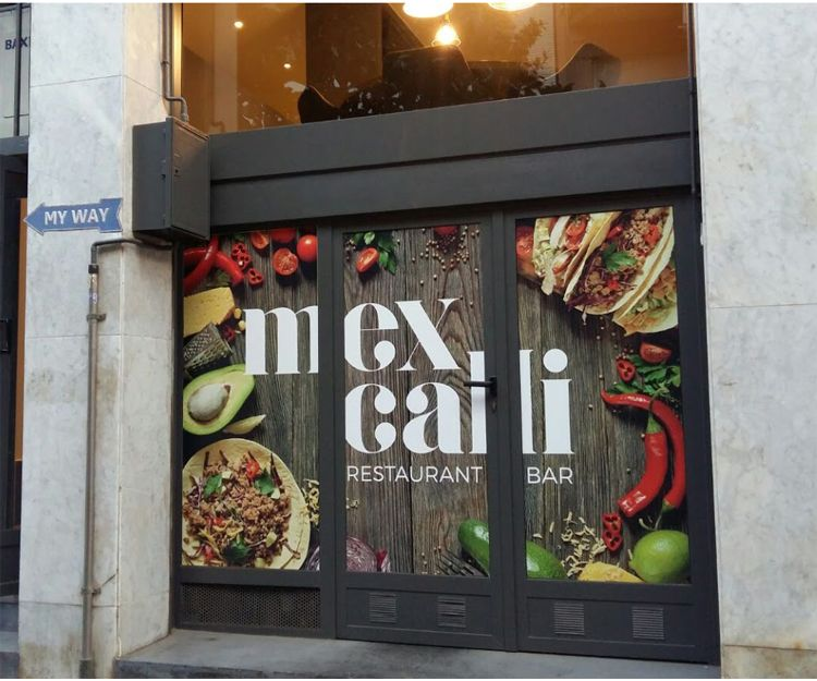 Facade of the mexican restaurant in San Cugat del Vallés
