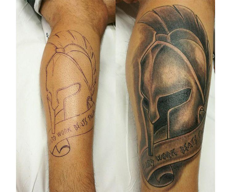 Tatuaje de romano