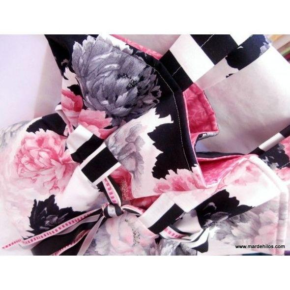 Bolso saco de flores