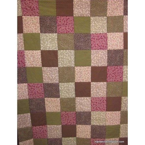 Mantas de patchwork