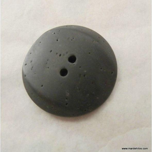 Botón gris grafito: Productos of Mar de Hilos