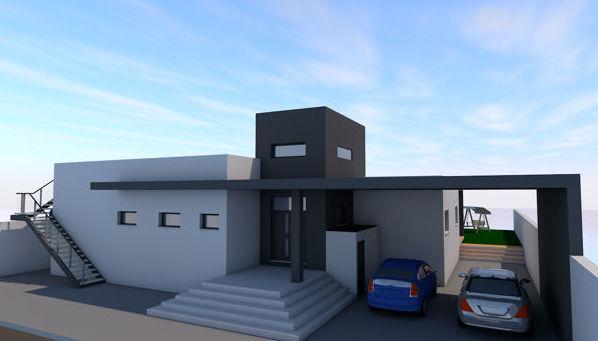 Vivienda unifamiliar y garaje en La Línea (Cádiz)