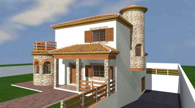 Vivienda unifamiliar y garaje en Santa Margarita, La Línea (Cádiz)