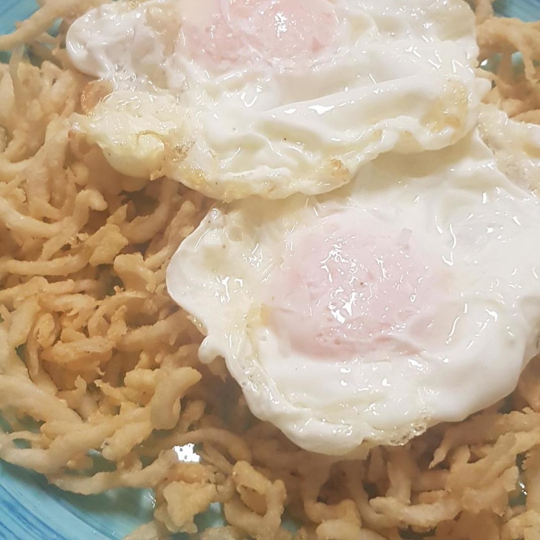 Huevos Camperos con Chanquetes