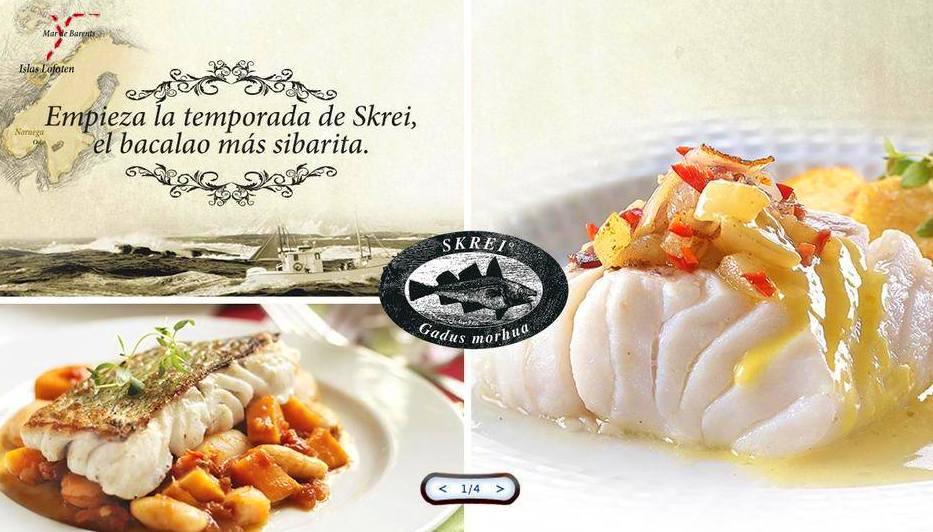 Empieza la temporada del Bacalao Skrei Noruego: Carta y menús de Skrei Noruego