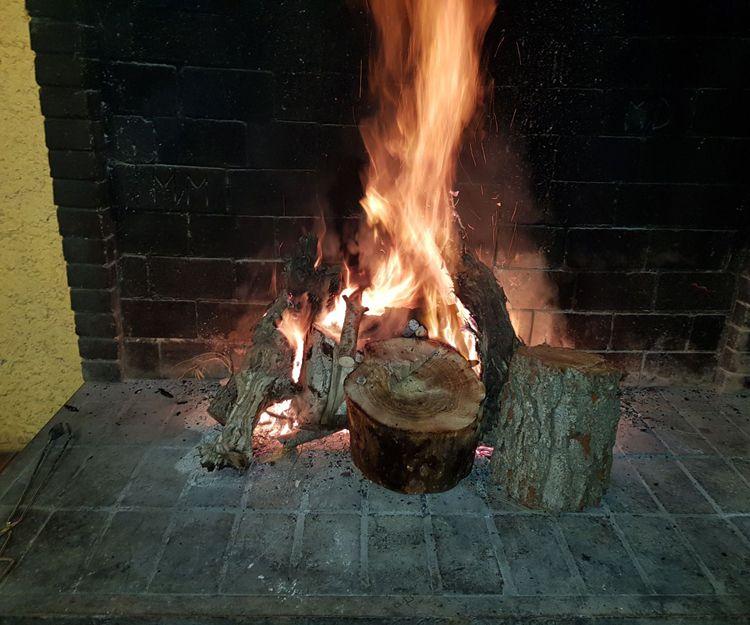 Cocina a la brasa en El Garraf