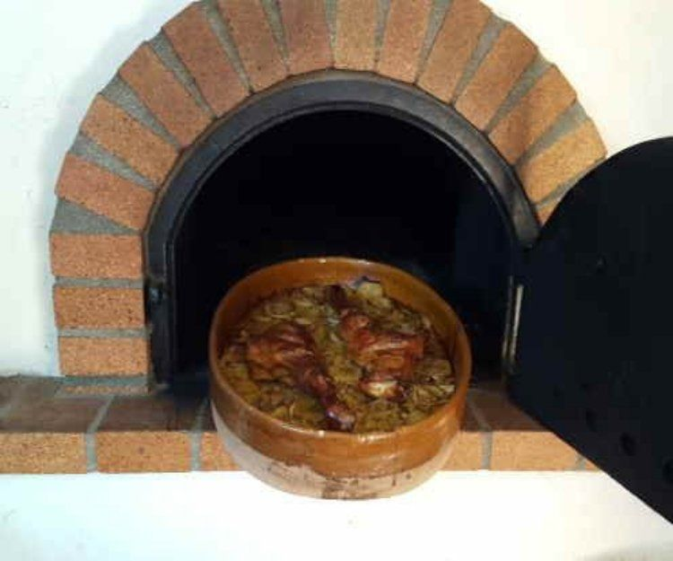 Horno de leña en Sitges