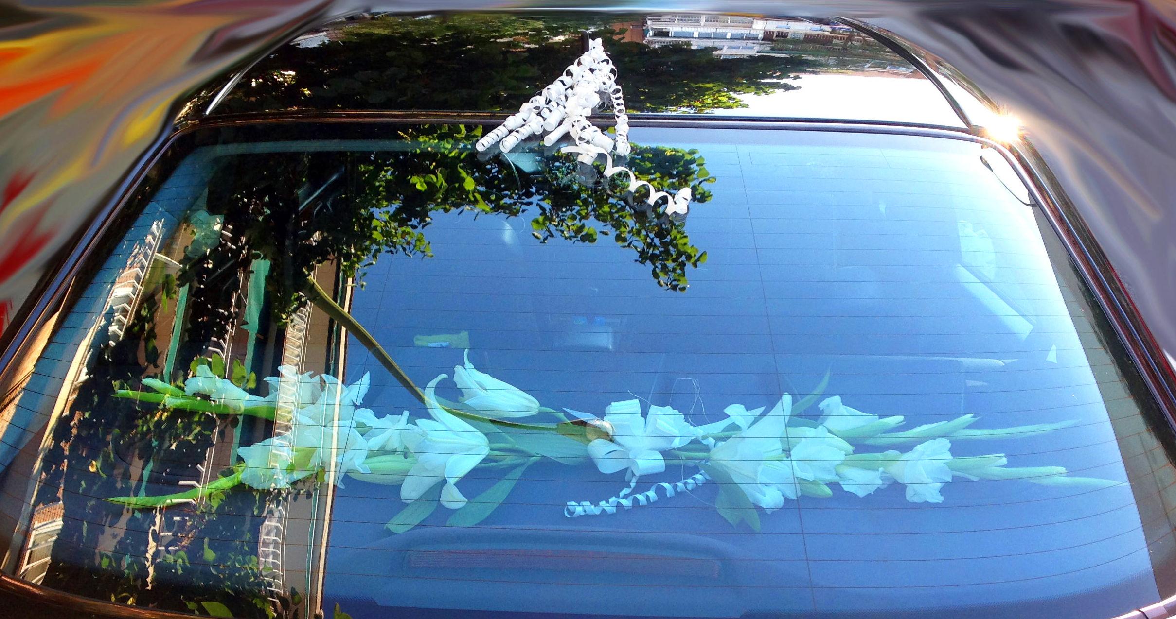 Flores para bandeja del coche: PRODUCTOS Y SERVICIOS  de Floristería Contreras - BARTOLOMÉ CONTRERAS