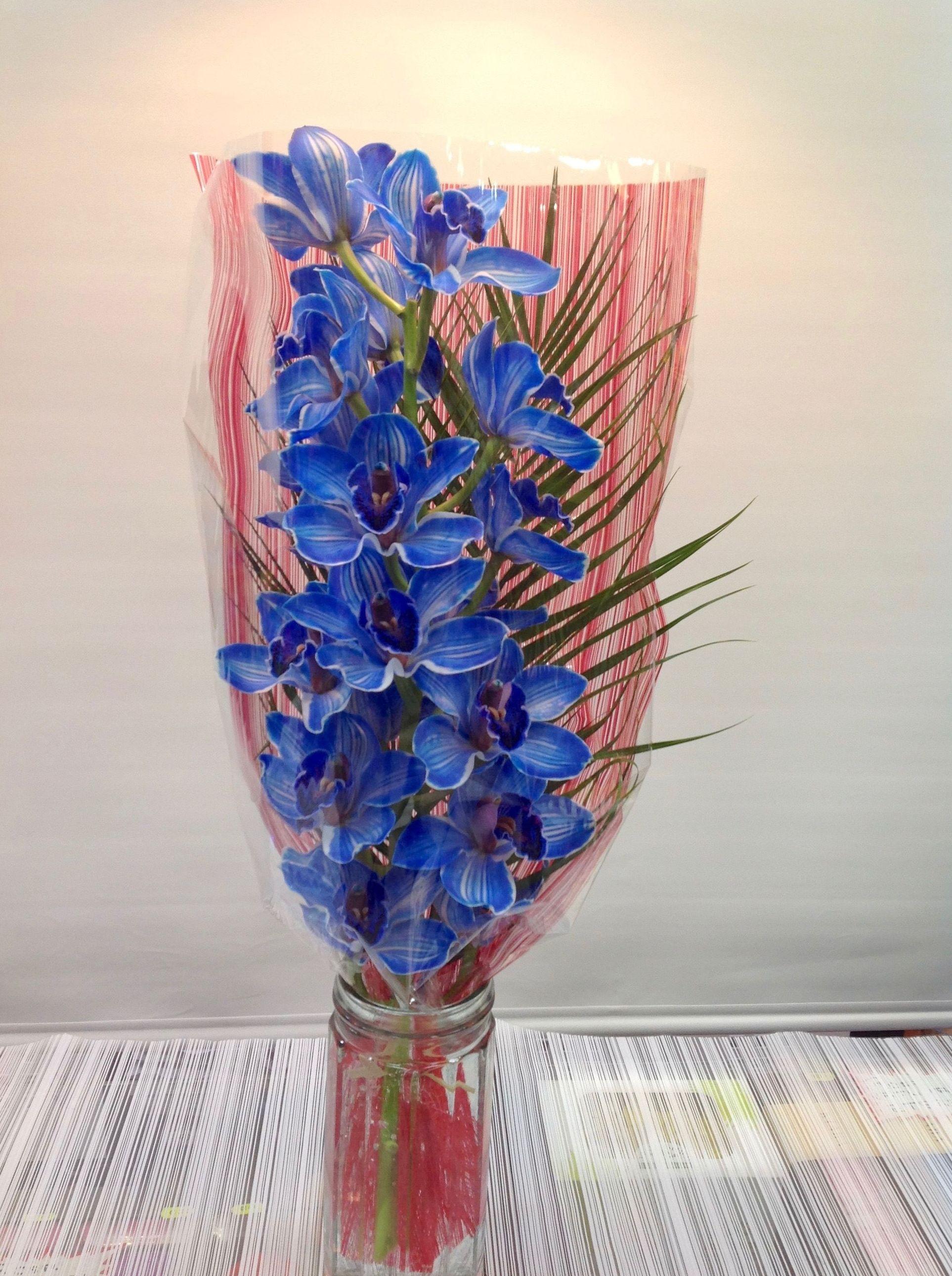 Bara de orquídeas grande:  de Floristería Contreras