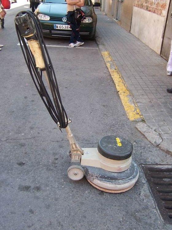 La mejor maquinaria para limpieza