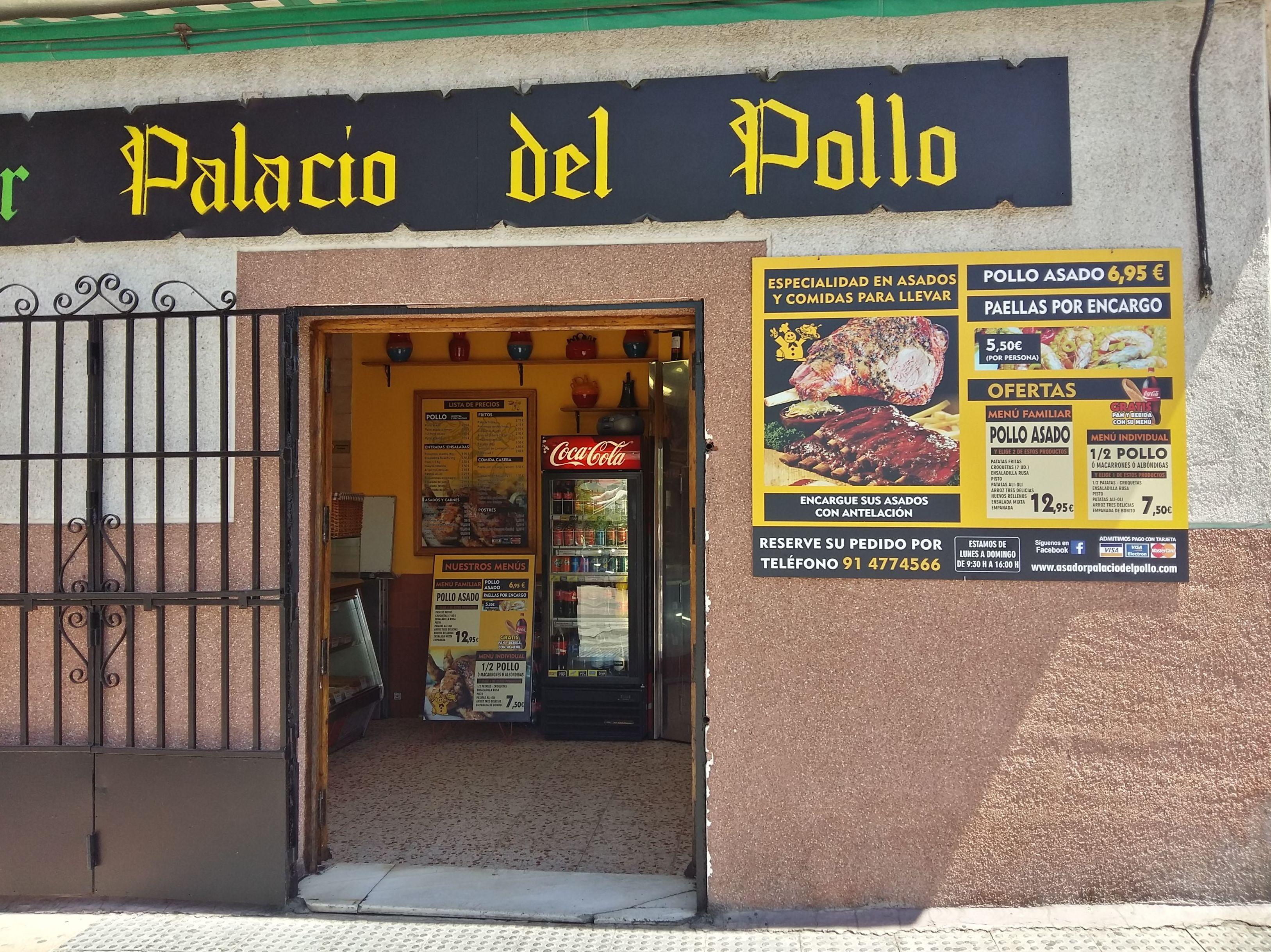 Foto 2 de Pollos asados en Madrid | El Palacio del Pollo