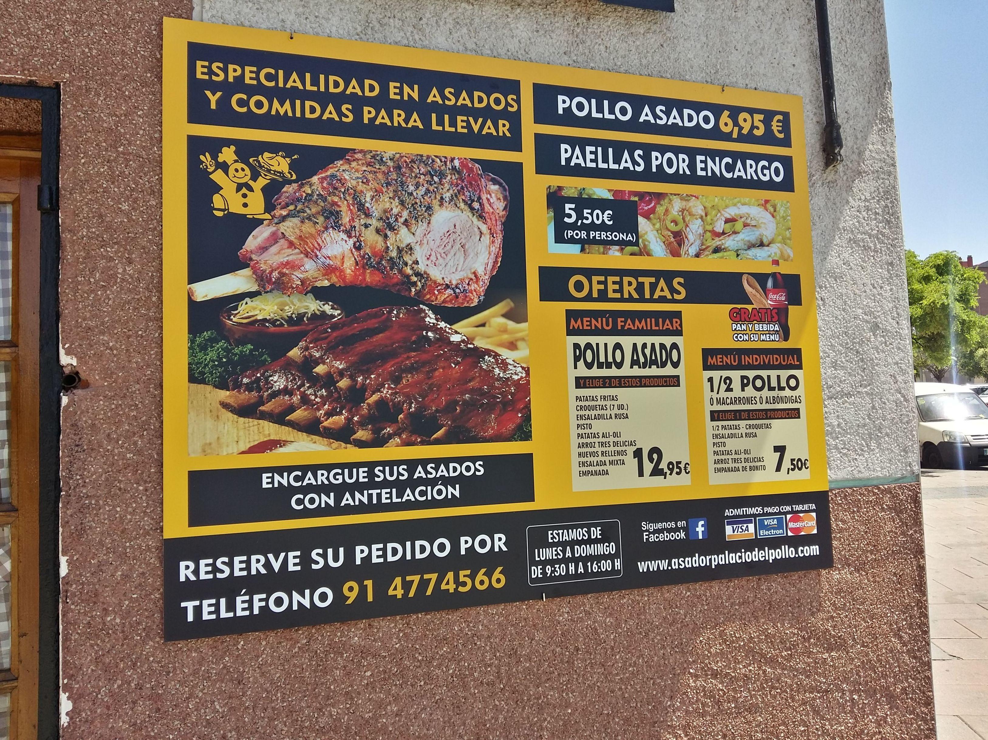 Foto 6 de Pollos asados en Madrid | El Palacio del Pollo