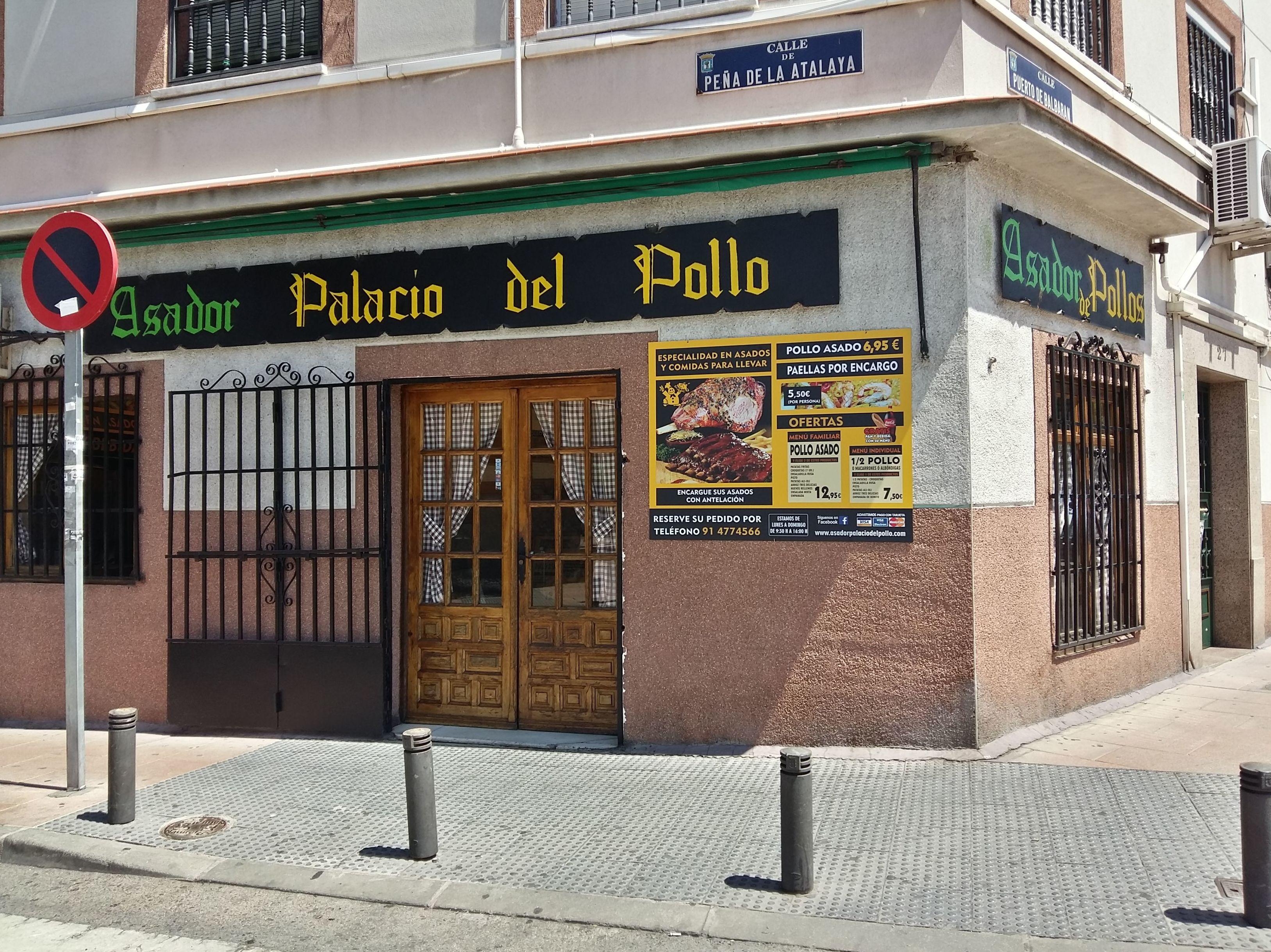 Foto 1 de Pollos asados en Madrid | El Palacio del Pollo