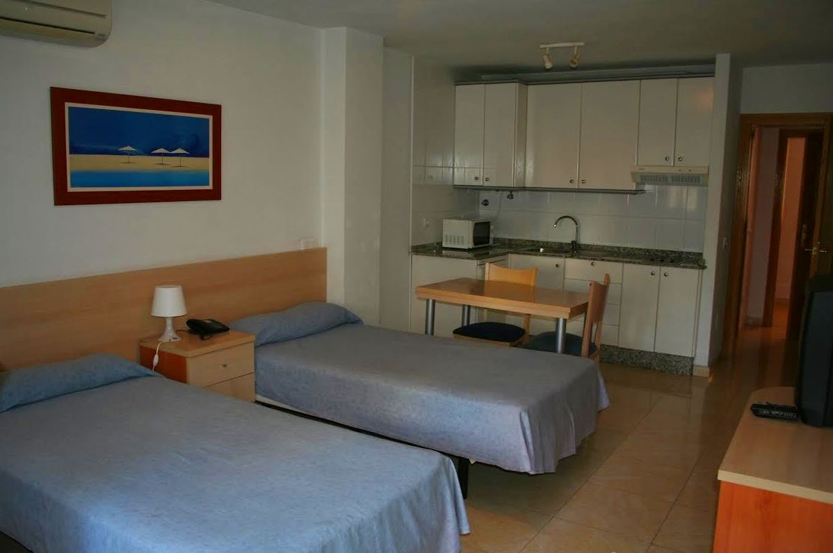 Apartamento-Estudio con habitación doble en Murcia