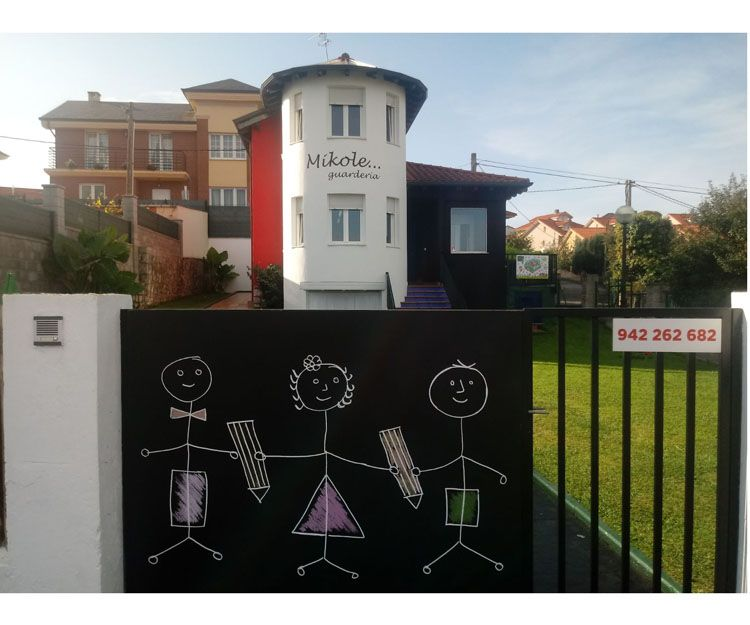 Servicio de guardería y escuela infantil