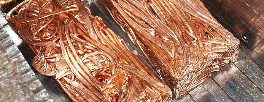 Cobre: Productos y servicios de Metales Pérez