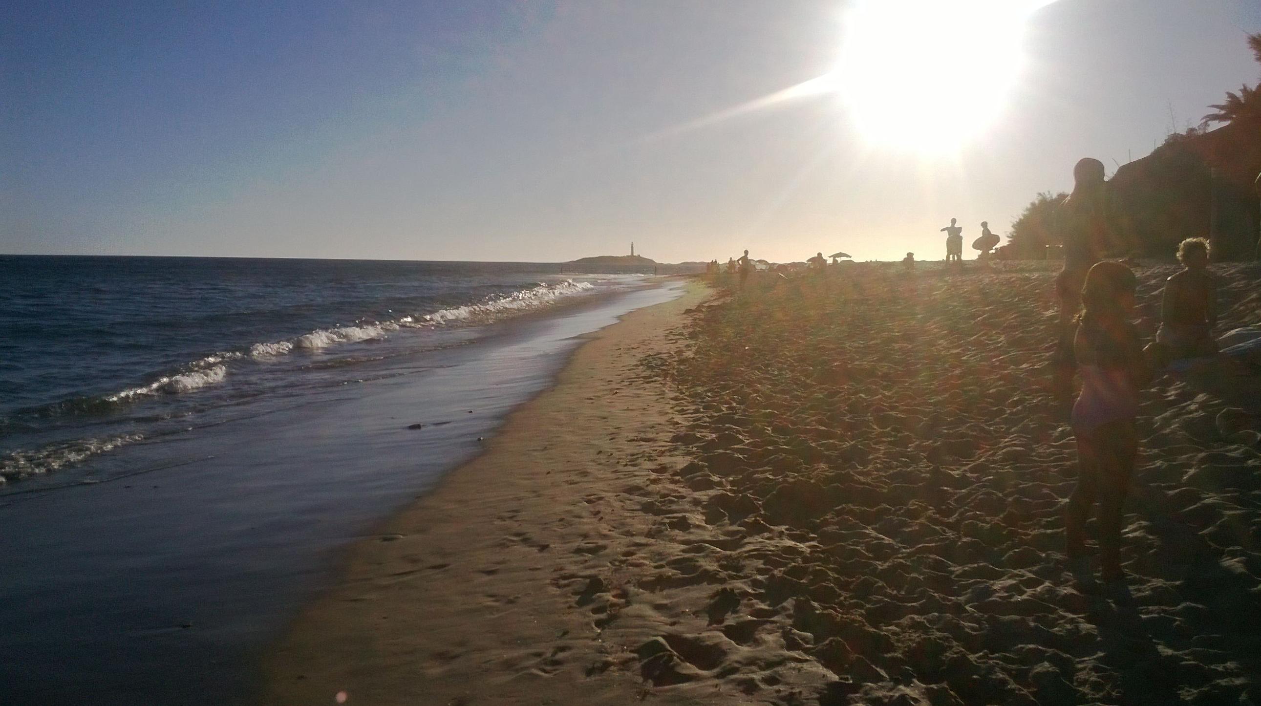 Atardecer en Playa Caños de Meca
