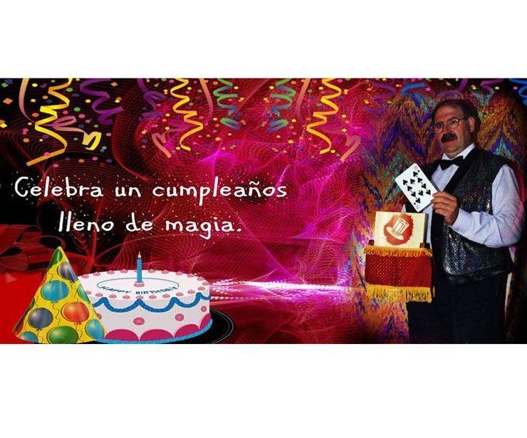 Mago fiestas de cumpleaños Zaragoza / El Gran Mago Jauncar