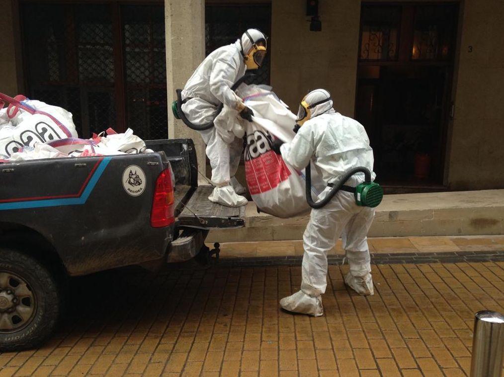 Retirada de amianto Bilbao