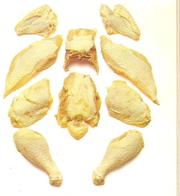 Pollo despedazado