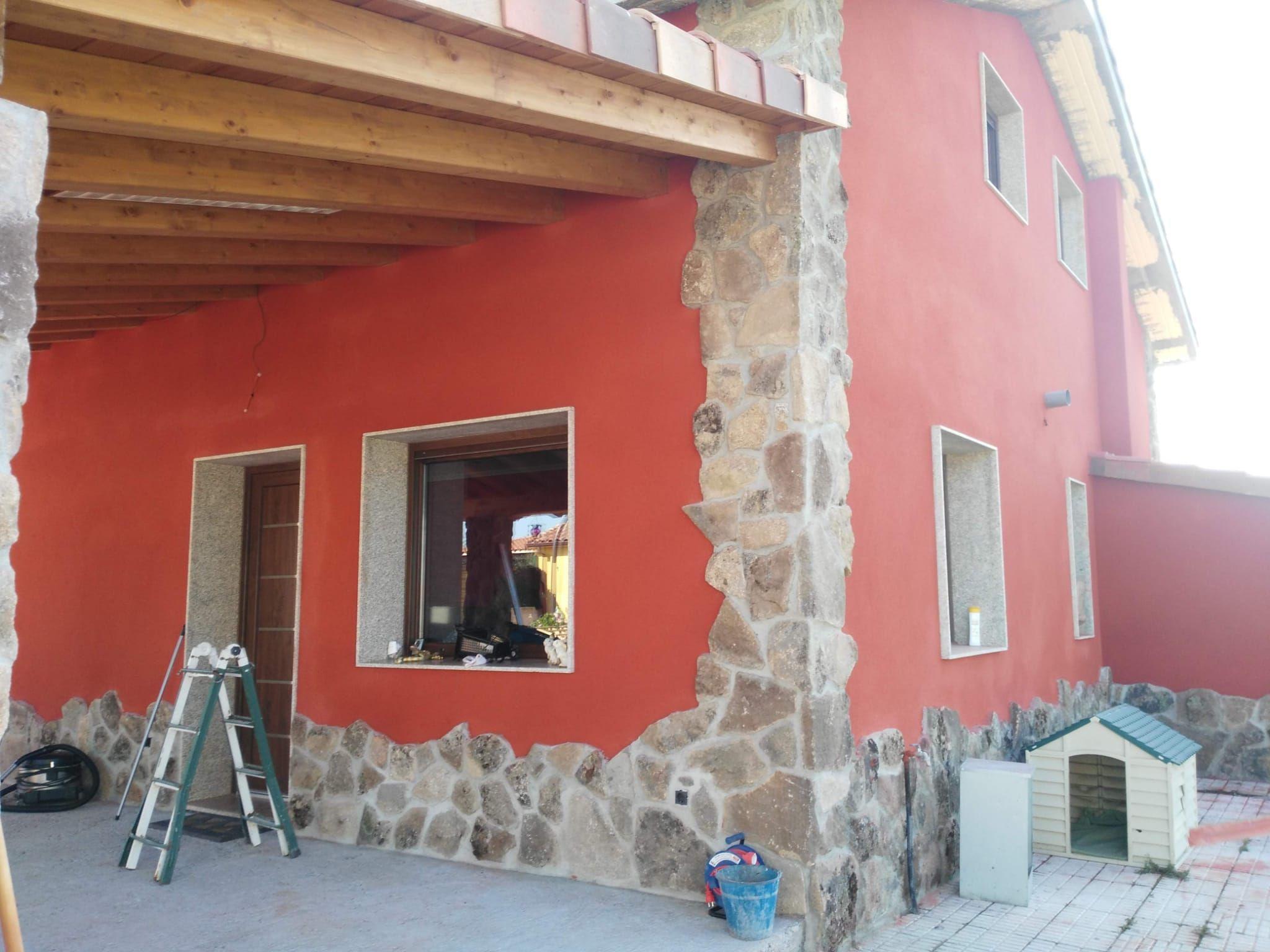 Revestimiento mortero monocapa en Ourense