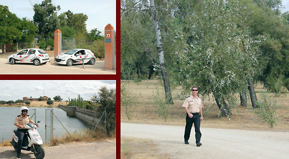 Vigilancia y protección en parques, áreas recreativas, embalses y espacios naturales.