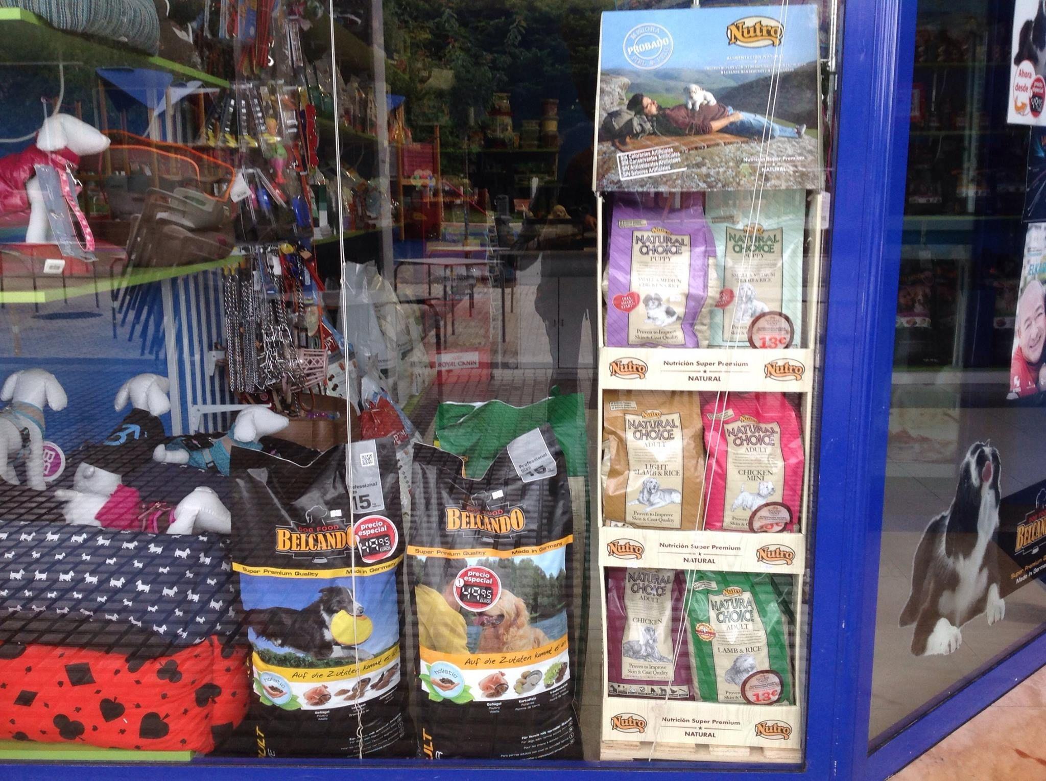 Tienda de animales en Donostia