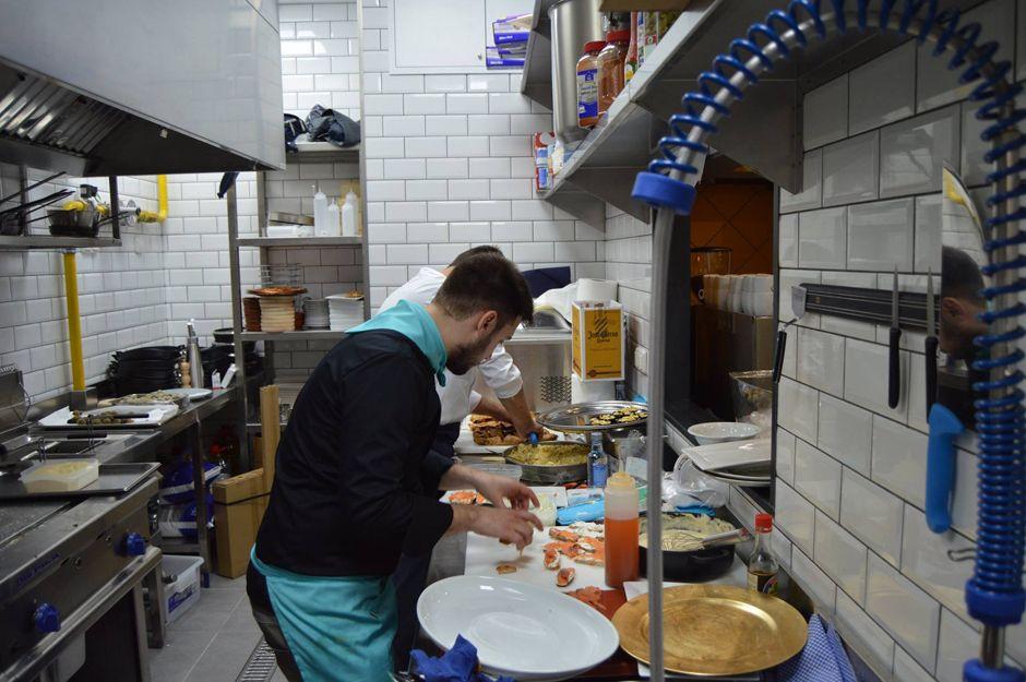 Nuestra cocina a pleno rendimiento